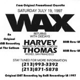Live at WAX Los Angeles - DJ HARVEY - on July 19th 1997 Side A and B from Promo Tape