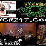 WCR247 KORE ROZZIK Interview with Metal Angel on The WikkedHoursRockShow