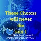 These Choons will never die mix  89/90/91 (Old Skool Rave, House & Warehouse Breaks) - Bones-E-boy
