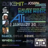 DJ Kemit presents ATL Dance Sessions January 2017 PROMO Mix