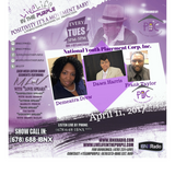 LiveLifeInThePURPLE Show with MLuV 04-11-2017 Guests Frank Taylor, Dawn Harris, Demeatra Drew