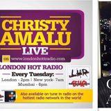 Christy Amalu on London Hott Radio 311017