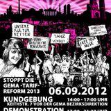Live-Set @ FAIRplay-Anti GEMA Tariferhöhung 2013-Parade (06.09.2012)
