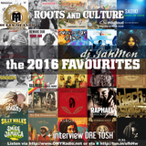 JahMons 2016 Favourites and interview with Dre Tosh on Outta Mi Yard radio