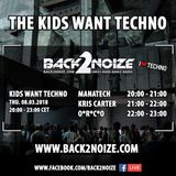 Manatech Live @ Back2Noize Radio - The Kids Want Techno Show (08.03.2018)