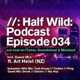 Half Wild: Podcast // Episode 034 // Guest Mix: Art Heist. (NZ)