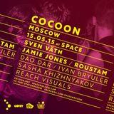 Sasha Khizhnyakov – Cocoon Moscow x Techno Gipsy @ Space Moscow – 15.05.2015