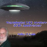 Mike Oram 50th yr Warminster ufo Mysteries Lifting the Veil Soundart Radio 102.5fm