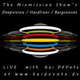 Mixmission - Hardliner LIVE @ www.kaidevote.de - Techno Pool #068 16.03.2018