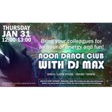 Noon Dance Club at Volvo Cars Jan 31 2019