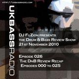 Ep. 026 - Review Show Recap, Episodes 001 to 025