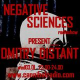 Negative Sciences with Dmitry Distant on Cannibal Radio Athens