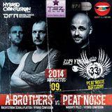 Peat Noise @ Peat Noise's B-Day Bash, T.SZ. Club, Nógrádsáp (Hungary) (09.AUG.2014)
