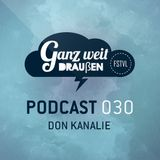 GWD Podcast 030 - Don Kanalie 11-08-2016