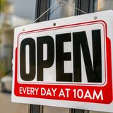 Open at 10am (Summer Hours)