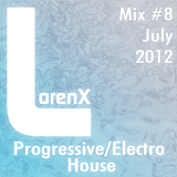 Lorenx Mix #8 July 2012[Progressive-Electro House]