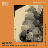 Whodis w/ Kota and Mild High Club - 11th April 2018