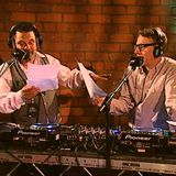 Craig Charles and Gilles Peterson (fight club)