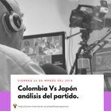 Colombia Vs Japón análisis del partido.