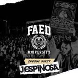 J. Espinosa on FAED University (Diplo's Revolution Channel on Sirius XM)