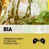 Bia @ Freenetik Party, Timisoara, RO - 21 Feb 2015