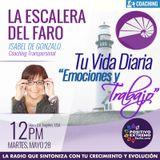 LA ESCALERA DEL FARO CON ISABEL DE GONZALO-05-28-19-TU VIDA DIARIA EMOCIONES Y TRABAJO