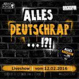 #allesDeutschrap?! Live-Mitschnitt 12.02.2016