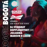 DJ Stingray - Boiler Room x Budweiser (2017.09.28 - Bogotá, Colombia)