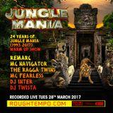 Jungle Mania - Rough Tempo - Remarc, Inter & Twista  with MC's Navigator, The Ragga Twins & Fearless