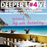CD-MENTIEL MAGAZINE present DEEPER LOVE #4 Mixed by Seb Drawing (JUNE-SEPT 2014)