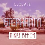 Nikki Beach Miami Sunday warm up ( July 30th 2017 )
