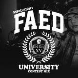 FAED UNIVERSITY CONTEST MIX