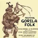 Sesión Electrofolk en el Festival Gorila (León)