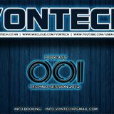 Podcast 001 mixed by Vontech ( Techno Session December 2012 )