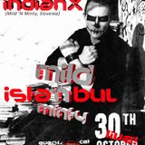 indianX - live at Cosmique Room, Istanbul - Mild 'N Minty on TM Radio - 31-Dec-2015