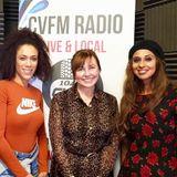 Anne Woodcock on CVFM Radio Middlesbrough