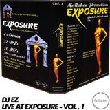 DJ EZ - Live at Exposure - vol 1