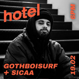 Gboisurf invite Nico Sicaa   - 19/02/19
