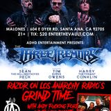 The Three Tremors, Deliverance, and more LIVE from Malones on LOS ANARCHY RADIO