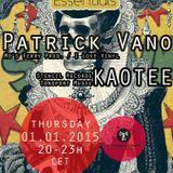 Patrick Vano - Berlin Essetials Podcast - 01.01.2015