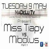 Madelu TV Présente Mibolus Neurologik Soundz Vs Miss Tiapy - 9 Mai 2017