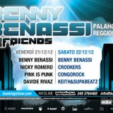 Crookers - Benny Benassi and Friends 2012 (Reggio Emilia) p2 - 22.12.2012