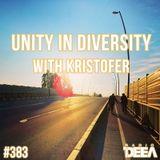 Kristofer - Unity in Diversity 383 @ Radio DEEA (14-05-2016)