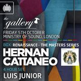 Luis Junior - Live at The Gallery, Ministry Of Sound, London (05-10-2012)