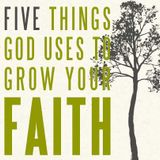 Five Things God Uses to Grow Your Faith - Week 5