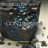 Block.I.am - Continuüm Live @msterdam (June 2014)