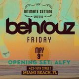 ALFY MI∆MI DEBUT: Opening Set for Behrouz at Do Not Sit on the Futniture | South Beach, May 2014