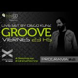 Groove #21 @ Vorterix Bahía (emitido el 02-06-17)