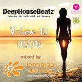 DeepHouseBeatz Volume 10 ( 07.2014 ) by Leonardo del Mar