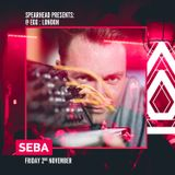 Seba Promo Mix for Spearhead Presents @ EGG:LDN - 2nd Nov 2018